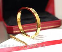 Wholesale imitation diamond sets resale online - Designer Bracelet Classic Love Collection Bracelet K Gold Jewelry Au Luxury Fashion Accessories Jewelry Collection