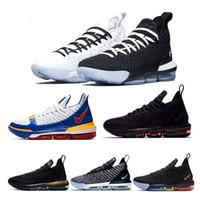 a294b653eedc 2019 new Lebron 16 Basketball Shoes Arrival Sneakers Lebron 16 LBJ16 Mens  Casual King James multicolor sports shoes LBJ EUR 40-46