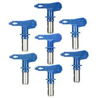 airless pistole spray malerei großhandel-Blaue Spritzspitzen Spritzspitzen Stahl Variiert je nach Typ Airless-Spritzpistolendüse Airless Für und Farbspritzgerät
