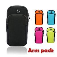 Wholesale bowling equipment for sale - Group buy Men and Women Running Mobile Arm Pack Fitness Equipment Outdoor Handbag Wrist Pack Waterproof
