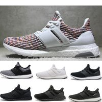 Wholesale ultra boost 4.0 for sale - Group buy 2019 High quality ultra Boost Triple Black and White CNY Blue grey Men Women Running Shoes sports Sneakers