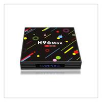 4k ultra hd tv großhandel-H96 Android 7.1 TV Box 4G + 64 GB max. 4 K Bildschirm RK3328 UHD Quad-Core WiFi Ultra HD H.265 Bluetooth TV Box