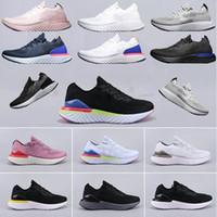 zapato volador para hombre al por mayor-nike,Flyknit Epic React Instant Go Fly hombres, mujeres, zapatos para correr, malla causal, deportes respirables, zapatillas de deporte de diseñador