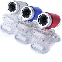mavi dizüstü mini toptan satış-2019 30 Mega Piksel Web Kamera Kamera Mavi renk USB 2.0 Web kamera 30 M PC HD Webcam Kamera PC Skype Laptop Notebook # SYS
