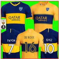 Wholesale boca juniors jersey thai for sale - Group buy Top Thai quality Boca Juniors Soccer Jersey BENEDETTO PAVON TEVEZ GAGO OSVALDO CARLITOS PEREZ P Football shirts