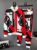 neue sportbekleidung großhandel-2018 alle neuen heißen männer Herbst Trainingsanzug set Zweiteilige mode Kleidung Sets Casual Trainingsanzug Sportbekleidung medusa Sweatsuits M-2XL