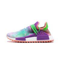 3f57c778c 2019 NMD human race Hu trail x pharrell williams men running shoes Solar  Pack Afro Holi Blank Canvas mens trainers women sports sneaker