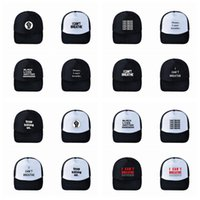 Wholesale black captain cap for sale - Group buy I Can t Breathe Baseball Hat Black Lives Matter Parade Caps Outdoor Summer Sunscreen Snapback I Cant Breath Caps Party Hats Supplies RR