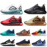 ingrosso scarpe da corsa donna blu-Nike air max 720  Uomo Blu Fury DESERT GOLD BE TRUE Sneakers firmate Womens Easter Pack 2019 nuove scarpe da ginnastica eur36-45