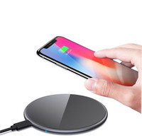 Wholesale qi charger price for sale – best Popular Cheap Price W D Armorplate Glass QI Standard Round Factory Price wireless phone charger GY