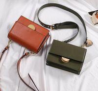 Wholesale brown glitter spandex resale online - designer handbags Handbag Fashion Women Bag PU Leather Handbags Shoulder Bag Crossbody Bags for Women Messenger Bags