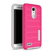 samsung galaxy a3 металлические золотые чехлы оптовых-2 в 1 чехол для телефона ТПУ ПК Защитная крышка для iphone XS Max X XR для Samsung S10 10 цветов LG Stylo4 / Puls 360 защитить