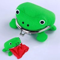 Wholesale Children Frog Coin Purse cartoon Anime Fashion Cosplay Frog Wallet Kids Boys Girls Baby Cute Personality Purse