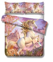 Wholesale black full beds for sale - Unicorn D Comforter Bedding Set Fortnite Duvet Covers Home Textile Printed Cartoon Fortnite Pattern Twin Full Queen King Size Set