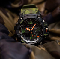 ingrosso regali di stile militare-G Style Mens Orologi 2019 Fashion Digital LED analogico orologio militare speciale regalo bracciale orologi Autolight orologio per uomo maschile all'aperto ora