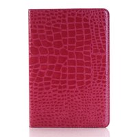Wholesale Subtle Design Crocodile Leather Credit Card Shell for Ipad Pro Case with Kickstand and Flip Fold for Ipad Air for Ipad Mini Cover