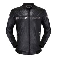 Wholesale cool motorcycle patches for sale - Group buy P brand jacket high quality deerskin knit scalp jacket cool zipper ultra thin motorcycle men s jacket men s windbreaker P12