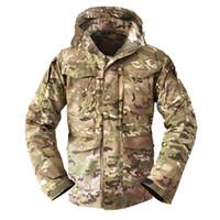casacos de exército para homens venda por atacado-Homens M65 Tático Jaqueta de Inverno Masculino Parka Casaco de Inverno À Prova D 'Água Windbreaker Pilotos de Vôo Militar Casaco de Campo de Outono Exército S-2XL