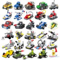 oyuncakları bir araya getirmek toptan satış-Kısa oyuncaklar küçük parçacıklar Uçak tankları yapı taşı Çocuk oyuncakları anaokulu hediyeler eğitici oyuncak askeri küçük bloklar monte