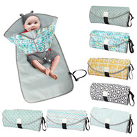 Wholesale diaper station for sale - Group buy Waterproof Baby Changing Mat Portable Diaper Changing Pad travel table Changing Station Diaper Pad for Toddlers Infants RN8052