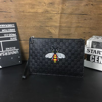 Wholesale free shipping crocodile handbags resale online - Cartoon fashion mode pu leather clutch cosmetic bag Crocodile Pattern PU Leather Folded Women Handbag and Clutch Bag