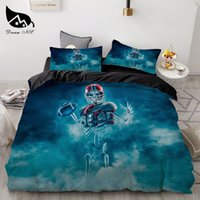 Wholesale skull bedding king for sale - Group buy Dream NS Zombie D Print Skull Creative Bedding Set Halloween Gift King Queen Twin Double Size Duvet Cover Pillowcase