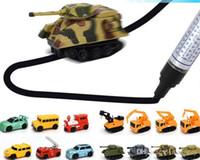 ingrosso ringraziamenti per dare regali-2017 Mini Magic Pen induttivo Fangle Veicolo Giocattoli per bambini Car Truck Tank Toy Natale Grazie Giving Day Gifts