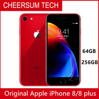 Wholesale red cell phone accessories for sale – best HOTsale Unlocked Original Apple iPhone Plus G LTE Cell phones GB RAM GB ROM MP Hexa core Fingerprint Mobile phone