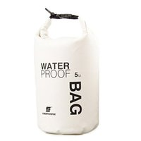 Wholesale dry bag for canoe resale online - Portable L Waterproof Bags Foldable Storage Dry Sack Bag For Canoe Kayak Rafting Outdoor Sport Swimming Bags Travel Kit A30
