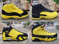 Wholesale pack baskets for sale - Group buy 2019 Mens Basketball Shoes Bumblebee Yellow Black Pack Designer Retro Sneakers Baskets s s Des Chaussures Schuhe Size