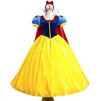 Wholesale snow white clothing for sale - Group buy Parent child Matching Outfit Movie Character Princess Skirt Anime Queen Clothing Halloween with Mantle Send Crinoline Snow White