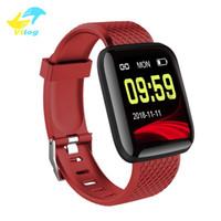 Wholesale intelligent band for sale – best Intelligent Bracelet Plus Smart Wristband Inch Color Screen Sports Fitness Smart Bracelet Blood Pressure Watch Pedometer Smart band