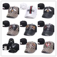 chapéus snapback venda por atacado-Venda quente marca mens designer chapéus snapback bonés de beisebol de luxo senhora moda chapéu verão camionista casquette mulheres causal bola cap