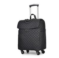 hafif hafif toptan satış-Bagaj taşınabilir arabası tekerlekleri ile seyahat sırt çantası seyahat çantası kadın Çanta hafif büyük kapasiteli b ...