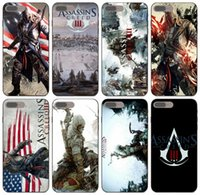 Wholesale iphone s for free online – custom TongTrade New Assassin s Creed Iii Poster Case For iPhone Pro Max X XS s s Plus Samsung S5 Huawei P8 LG G7 ThinQ Case