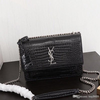 Wholesale two one handbags online – custom Women s one shoulder bag handbag leather production large capacity chain metal decoration fashionable and generous EY4429