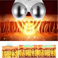ingrosso massaggiatore occhio del cerchio scuro-Face Trainer Kit Dispositivi per la tonificazione facciale elettrici Viso Massager Eye Bags Macchina per la rimozione delle rughe