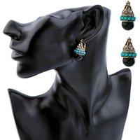 top kulak çivisi toptan satış-Avrupa ve Amerikan moda takı perakende klasik zarif top kolye bayanlar kulak çivi fabrika fiyat toptan