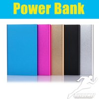 Wholesale external charger for android for sale – best Top selling Ultra thin slim Portable power bank Phone Charger Portable External Battery Polymer for iPhone Android mobile phone Tablet PC