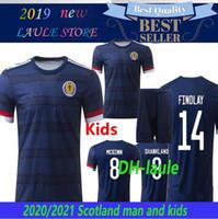 Wholesale scotland soccer jersey resale online - 2020 Scotland soccer jersey euro cup man kids football shirt ROBERTSON FRASER NAISMITH MCGREGOR CHRISTIE FORREST MCGINN Camiseta futbol