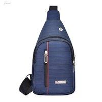Wholesale korea style travel bag for sale - Group buy Men Shoulder Waist Bags Travel Chest Belt Packs Fashion Leisure Waterproof Man Oxford Cloth Korea Style Messenger Bag