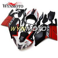 aprilia rsv weiße verkleidungen großhandel-Matte Black Red White Panels für Aprilia RSV 1000 Mile 2003 2004 2005 2006 03 04 05 06 Karosserie Autobike Verkleidung Body Kit Kunststoff-Einspritzung