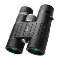 качество бинокля оптовых-Мощный бинокль 8x42 профессиональный телескоп высокое качество азота водонепроницаемый большой окуляр бинокль для охоты