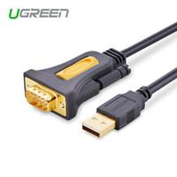 ingrosso gps rs232-Ugreen di alta qualità da USB2.0 a RS232 COM Port Serial PDA 9 Cavo DB9 pin Adattatore per PC PDA GPS