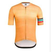 новая одежда для rapha cycling оптовых-Новый RAPHA Team Мужчины Велоспорт Джерси с коротким рукавом рубашки Tour de France Велосипед Одежда Горный MTB Велосипед одежда Y0513010