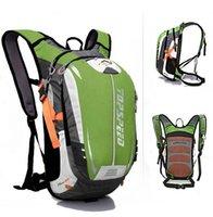 rucksäcke für motorräder großhandel-18L Wasserdichte Camping Rucksack Outdoor Sports Klettern Reiten Radfahren Tasche Sport Rucksäcke Rucksack Motorrad Reiten Tasche