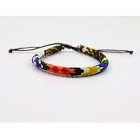 seil armband benutzerdefinierten charme großhandel-Personalisierte benutzerdefinierte bequeme Farbkombination Mode Baumwolle Seil Band handgefertigte geflochtene verstellbare Armband günstigen Preis