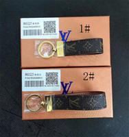 ingrosso chiave nuova-2019 Fashion New Brand Keychain Portachiavi Per Le Donne Borsa Auto Catena Chiave Gingillo Gioielli Regalo Souvenir con la scatola per il regalo RT220