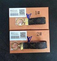 markalı anahtarlık toptan satış-Kadınlar Için 2019 Moda Yeni Marka Anahtarlık Anahtarlık Çanta Araba Anahtarlık Biblo Takı Hediye Hediyelik kutu için hediye ile RT220