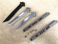 faca dobrável leve venda por atacado-Diy montar todo bm42 borboleta 3 estilo velocidade da luz facas dobráveis pedra alça de lavagem mercerizing lâmina bowie